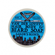 Van Der Lovett Hair, Body & Beard Shampoo Soap Bar Sailors Blend (60 g)