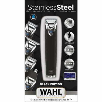 Wahl Stainless Steel Advanced Black Edition