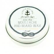 Extra Firm Moustache and Beard Wax Mandarin & Cedarwood 30 ml