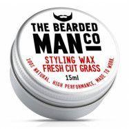 The Bearded Man Company Moustache Wax Fresh Cut Grass
