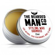 The Bearded Man Company Moustache Wax Oak Moss