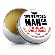 The Bearded Man Company Moustache Wax Spanish Orange